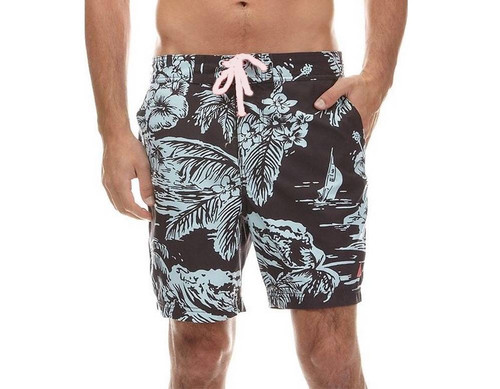 3ffafe46a68aa Nautica Men's E-Board Short Swim Trunks - Overstock Market