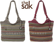 THE SAK WOMEN'S BELLE TOTE HAND CROCHETED