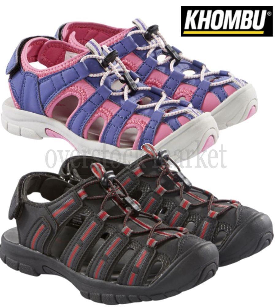 Khombu Kids Boys Closed Toe Sport Sandal Shoes ~ Various Sizes// Condition !