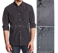 MENS CALVIN KLEIN 100% BRUSHED COTTON POPLIN WOVEN SHIRT SPORT SHIRT