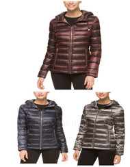 WOMEN'S ANDREW MARC FEATHERWEIGHT PACKABLE DOWN HOODED JACKET