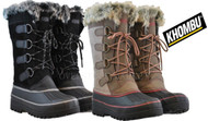 WOMENS KHOMBU NORTH STAR THERMOLITE WEATHER RATED WINTER SNOW BOOTS