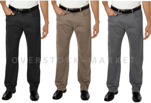 e430b7765463 Men s Kirkland Signature 5 Pocket Brushed Cotton Pant! - Overstock ...
