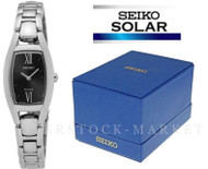 Seiko Classic Solar Powered Stainless Steel Dress Watch SUP317