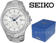 Men's Seiko Coutura Kinetic Automatic Silver Tone Stainless Steel Watch SRN063