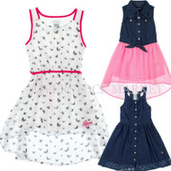GUESS JEANS GIRLS DRESSES! GUESS LOS ANGELES VARIETY STYLES, SIZES, & COLORS