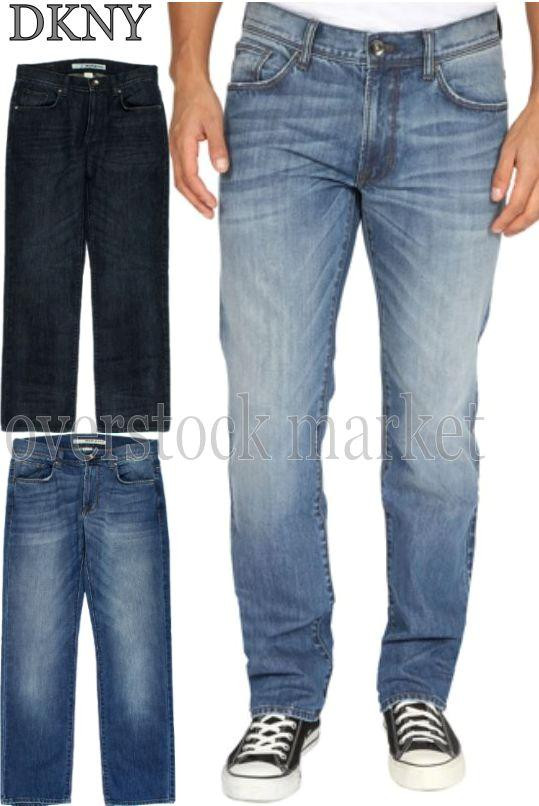 MEN DKNY JEANS SOHO RELAXED STRAIGHT LEG CLASSIC 5 POCKET