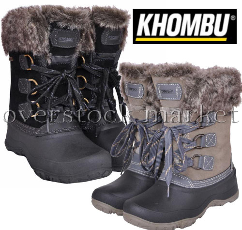 2f21811eee4 WOMENS KHOMBU SLOPE THERMOLITE ALL WEATHER TERRAIN WINTER SNOW BOOTS ...