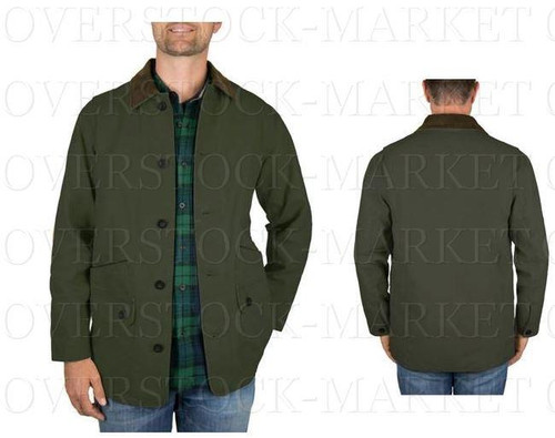 d7d06345c MEN'S ORVIS CLASSIC COLLECTION CANVAS QUILTED LINED BARN JACKET ...