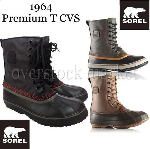 d3e787289f7 MEN'S SOREL 1964 PREMIUM T CVS WATERPROOF WINTER SNOW BOOTS! 1372521 ...