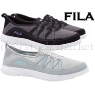 WOMENS FILA PILOTA SLIP ON MEMORY FOAM COMFORT SHOES