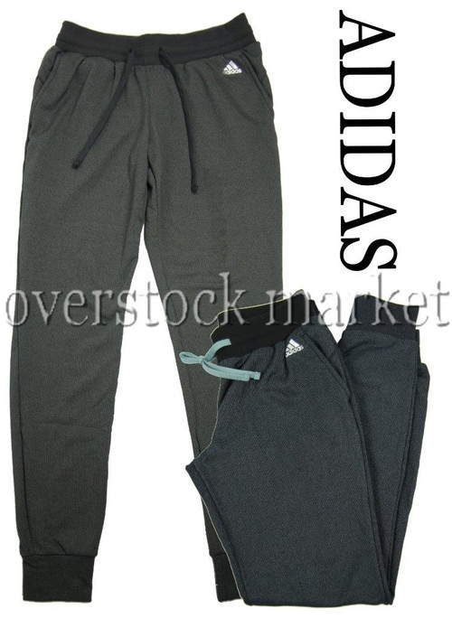 f4595493993cdc ... WOMENS ADIDAS CLIMAWARM TAPERED LEG JOGGER PANT! ATHLETIC PANT. Image 1