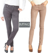 NEW WOMENS BUFFALO DAVID BITTON HOPE SKINNY PANT! MID RISE SLIM LEG!