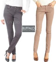 NEW WOMENS BUFFALO DAVID BITTON HOPE SKINNY PANT! MID RISE SLIM LEG!