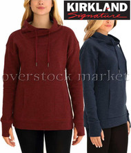 WOMENS KIRKLAND SIGNATURE MOCK NECK PULLOVER!