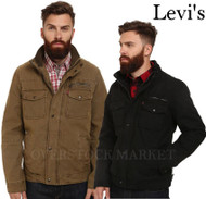 MENS LEVI'S FULL ZIP TRUCKER JACKET!