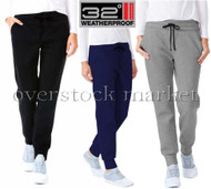 WOMENS WEATHERPROOF 32 DEGREES HEAT TECH FLEECE JOGGER PANT