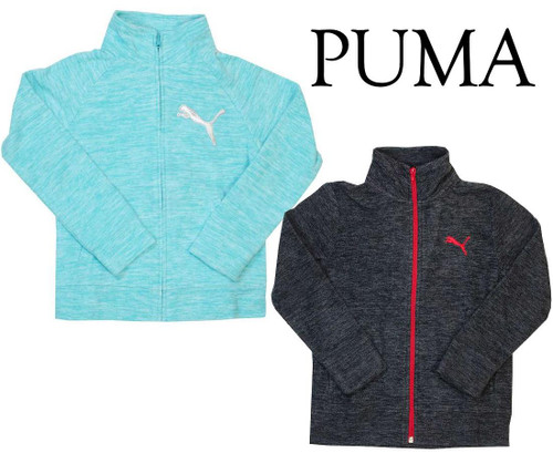 quality design 3bd4e 7bdb4 PUMA BOYS OR GIRLS YOUTH FULL ZIP FLEECE JACKET! Image 1