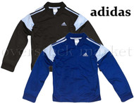 BOY'S YOUTH ADIDAS TRICOT FULL ZIP TRACK JACKET!