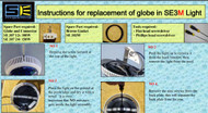 Spa Electrics SE3 Globe Change Instructions