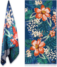 Sand Free Beach Towel - Carribean