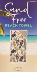 Sand Free Beach Towel - Toucan