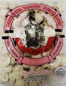 """Babushka Brand"" Veal Dumplings 1 LB pack"