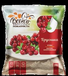 Cowberry Quick frozen (300g pack)