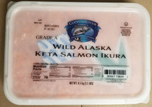 Wild Alaska Keta Salmon Caviar by Copper River (1.1 Lbs pack)