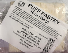 Puff Pastry, Canada (454g pack)
