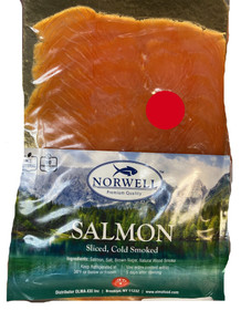 Sliced, Cold Smoked Salmon (113g pack)