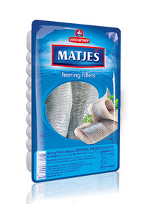 Lightly Salted Atlantic Herring in Oil  (500g pack)