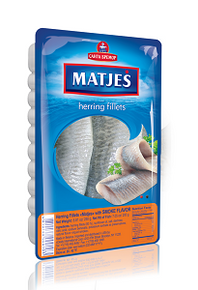 Herring Fillet Matjes with Smoke Flavour (250g pack)