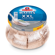 Herring Fillet Pieces XXL Selected in a jar (260g pack)