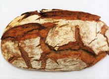 German Crusty Rye Bread - Krustenbrot