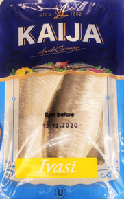 "Lightly Salted Herring Fillets in Oil ""Ivasi"" (250g pack)"