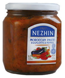 Nezhin Moroccan Paste Eggplants & Pepper (450g)