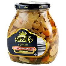 Mikado Light Mushroom Mix Marinated (580g)