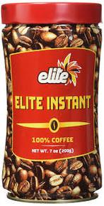 Elite, 100% Instant Coffee (7 oz)