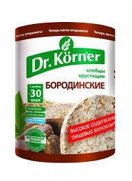 """Dr. Korner Crispbread """"Borodinskie"""" (100g)"""