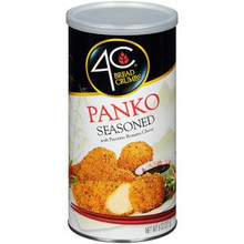 Bread Crumbs .4C Panko Seasoned  (227g)