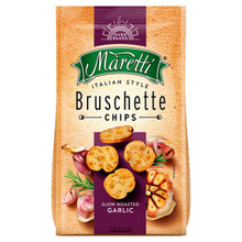 Bruschette Chips Slow Roasted Garlic (70g)