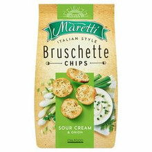 Bruschette Chips Sour Cream & Onion (70g)
