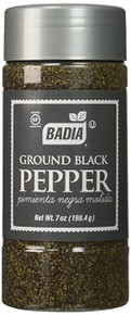 Badia,  Ground Black Pepper (198g)