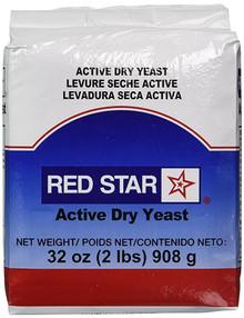 Yeast.Red Star, Active Dry Yeast (908g)