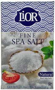 Salt.Lior, Fine Sea Salt (1 Kg)