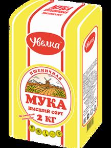Увелка, Wheat Baking Flour (2 Kg)