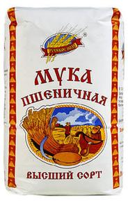 Русское поле, Wheat Flour (1 Kg)