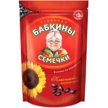 Бабкины семечки, Sunflower  Seeds Roasted (500g)