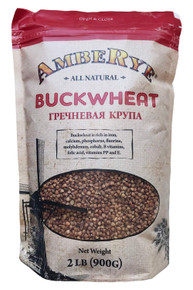 AmbeRye Buckwheat Groats Roasted Whole Grain (2 Lb)